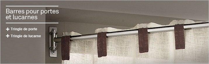 barre pour porte lucarne et ciel de lit barre rideau tringle rail et c ble leroy merlin. Black Bedroom Furniture Sets. Home Design Ideas