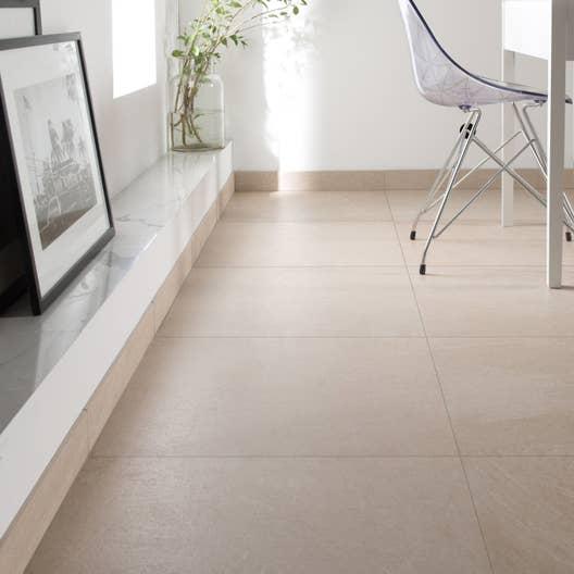 carrelage sol et mur beige effet pierre milano x cm leroy merlin. Black Bedroom Furniture Sets. Home Design Ideas