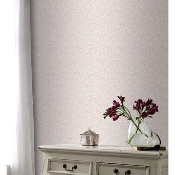 Papier peint intissé Luzerne rose