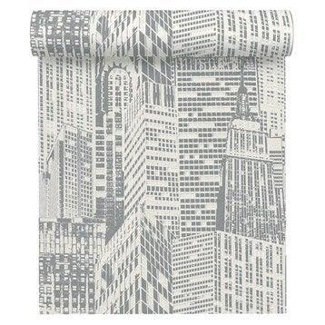 Papier peint tapisserie papier peint intiss et vinyle leroy merlin - Papier peint phosphorescent ...