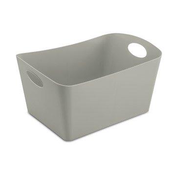 Panier malle et boite de rangement rangement de salle for Boite de rangement salle de bain