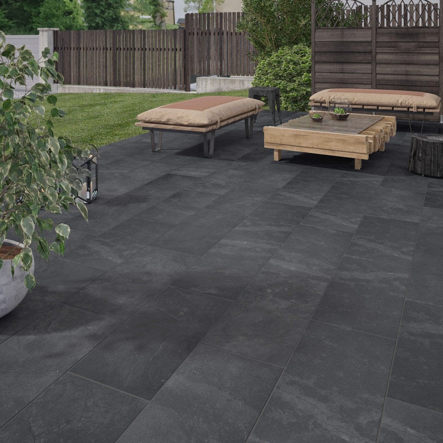 Carrelage Jardin Carrelage Terrasse Exterieur Point P Photos De