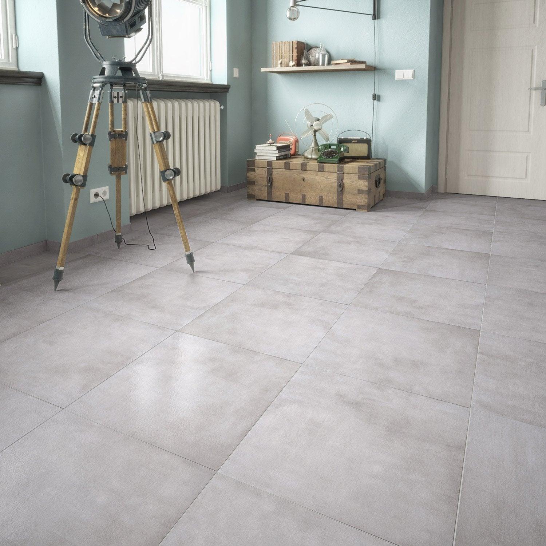 carrelage sol et mur gris clair aspect pierre raison x cm leroy merlin. Black Bedroom Furniture Sets. Home Design Ideas
