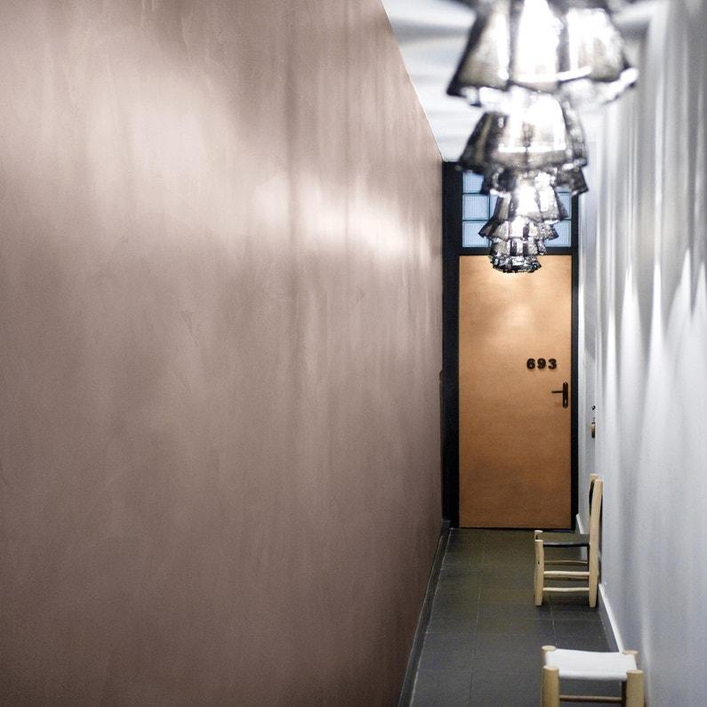 Peinture à Effet Industrie Maison Deco Marron Glacé 4 Kg