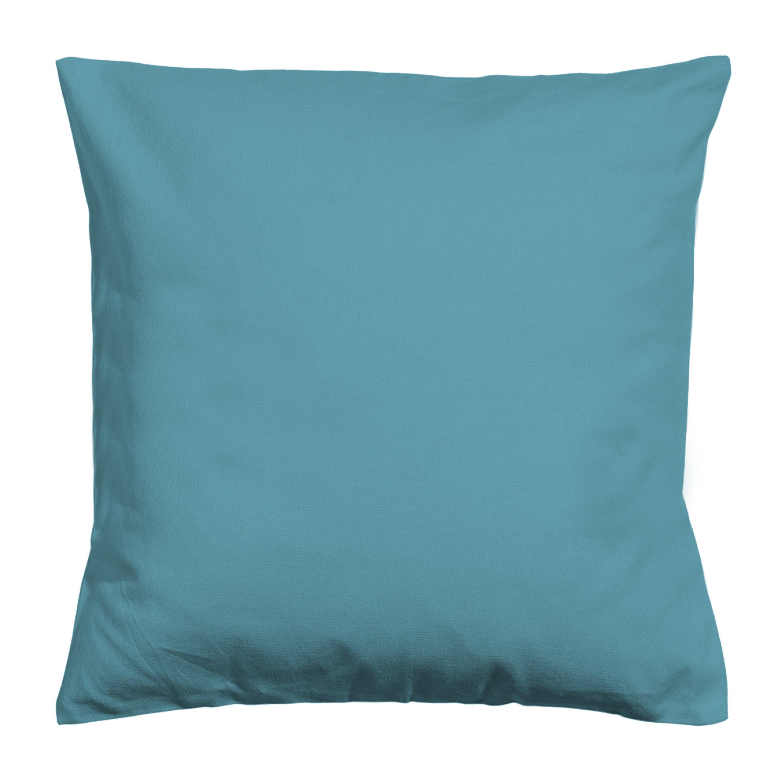Coussin d'assise de chaise ou de fauteuil Newelema INSPIRE, bleu l.35 x H.10 cm