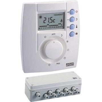 Accessoires de chaudi re radiateur s che serviettes chaudi re r gulation et climatiseur au - Regulation chauffage avec sonde exterieure ...