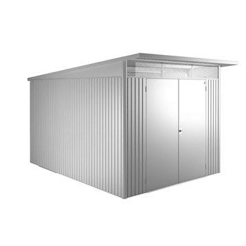 Abri de jardin en métal Avant-garde TXXL,BIOHORT, 8.37 m², ép. 53 mm