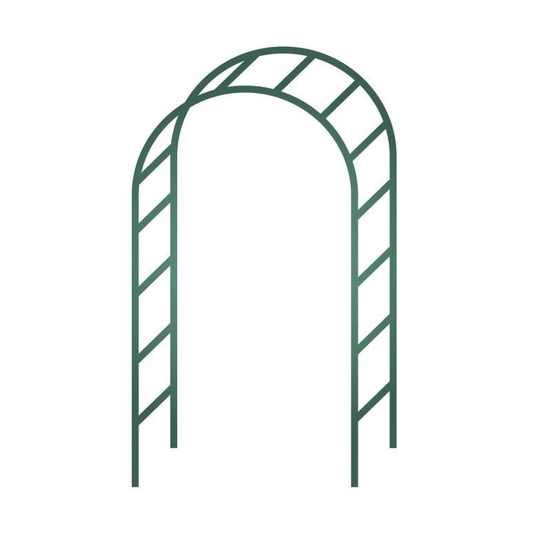 Arche Double Egt Garden L140 X H240 X P40 Cm