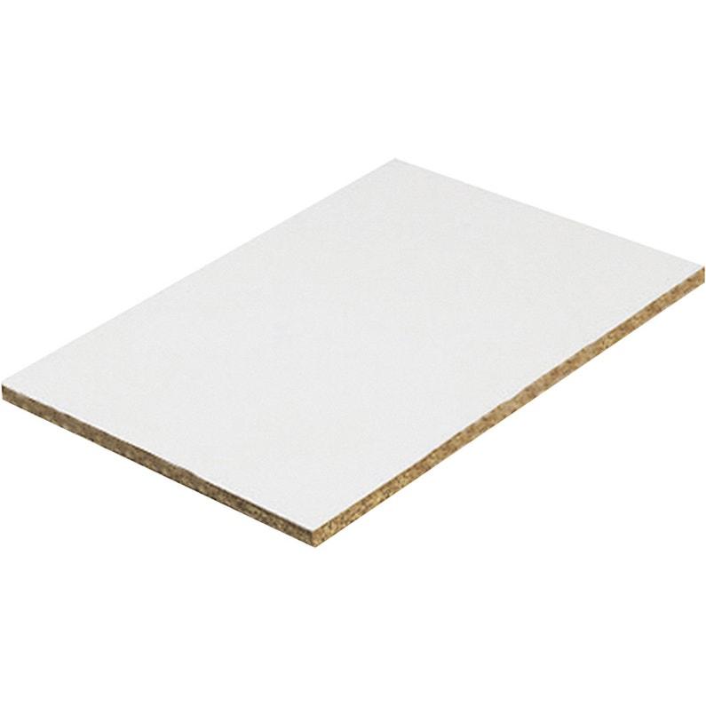 Panneau Aggloméré Blanc Ep22 Mm X L40 X L10 Cm