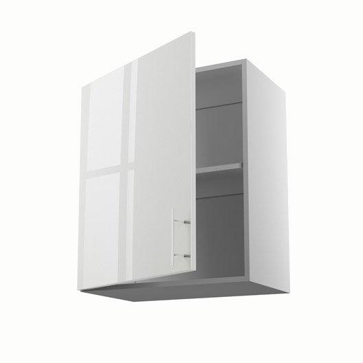 meuble de cuisine haut blanc 1 porte rio x x p
