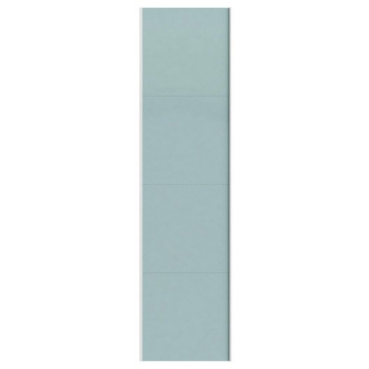 Portes coulissantes spaceo home 240 x 60 x 1 6 cm blanc for Porte coulissante 240 cm hauteur
