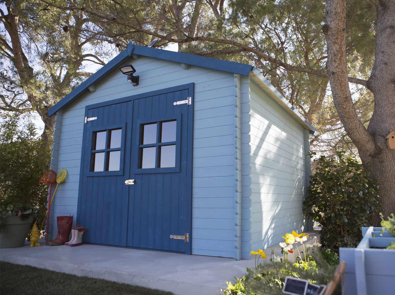 Un terrain de jeux pour les enfants leroy merlin - Comment installer un abri de jardin ...