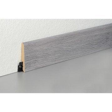 plinthe pour parquet et stratifi plinthe bois assortie et peindre leroy merlin. Black Bedroom Furniture Sets. Home Design Ideas
