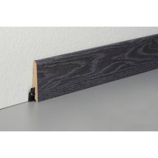 plinthe sol stratifi d cor n 250 cm x x mm leroy merlin. Black Bedroom Furniture Sets. Home Design Ideas