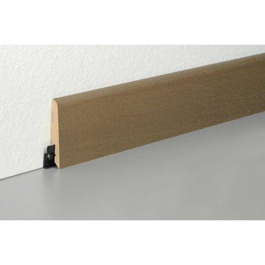 plinthe parquet plaqu e ch ne caf cm x x ep. Black Bedroom Furniture Sets. Home Design Ideas