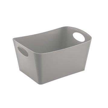 Boîte de rangement nomade en plastique gris-gris n°1, Boxxx