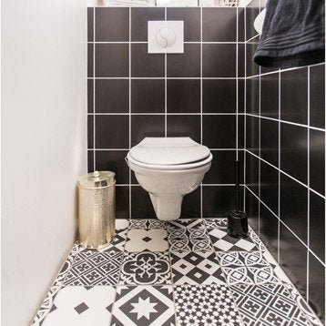 Wc suspendu wc abattant et lave mains toilette for Interieur wc suspendu