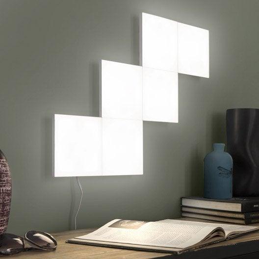 extension panneau led d coratif led int gr e puzzle 1 x. Black Bedroom Furniture Sets. Home Design Ideas