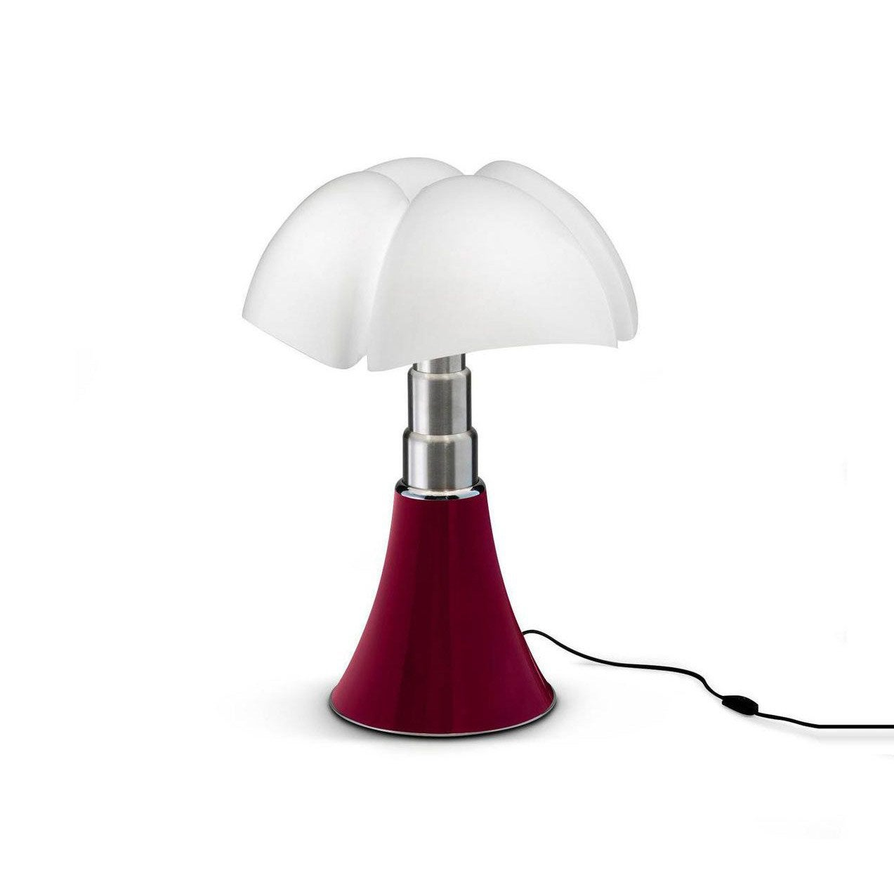 Lampe, design, métal, MARTINELLI LUCE Mini pipistrello rouge