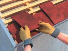 Pose de liteaux pour tuiles plates rev tements modernes du toit - Comment poser des liteaux pour tuiles ...