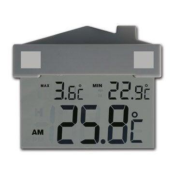 Thermomètre fenêtre solaire INOVALLEY