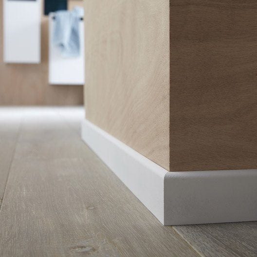 plinthe m dium mdf droite hydrofuge 10 x 70 mm l 2 m leroy merlin. Black Bedroom Furniture Sets. Home Design Ideas