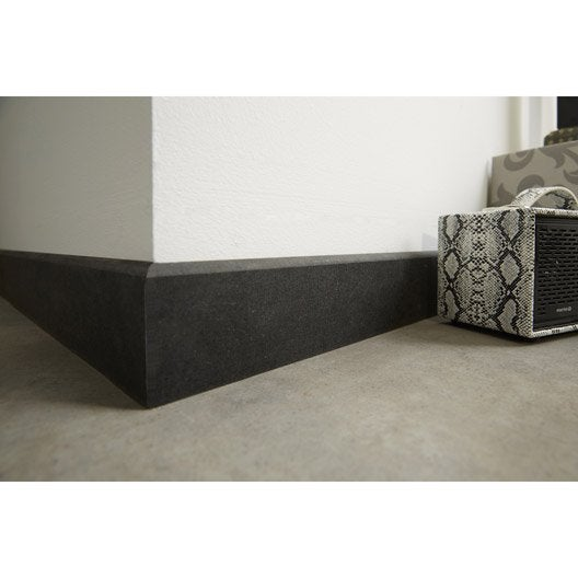 plinthe m dium mdf r versible gris fonc 8 x 70 mm l 2 5 m leroy merlin. Black Bedroom Furniture Sets. Home Design Ideas