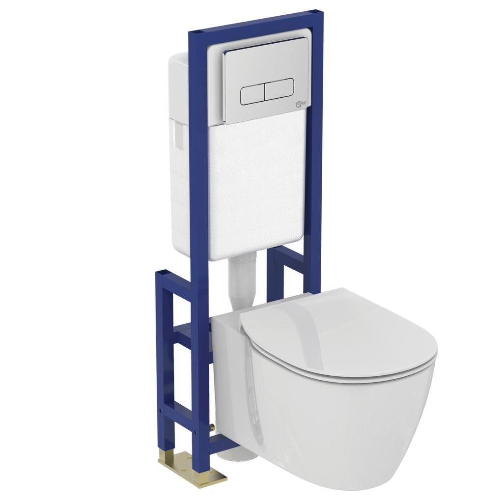 pack wc suspendu b ti sol ideal standard idealsmart aquablade leroy merlin. Black Bedroom Furniture Sets. Home Design Ideas