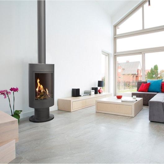 po le au gaz propane ug2 9 2 kw leroy merlin. Black Bedroom Furniture Sets. Home Design Ideas
