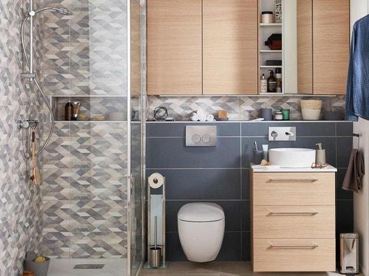 Aménager l\'essentiel dans une petite salle de bains | Leroy Merlin