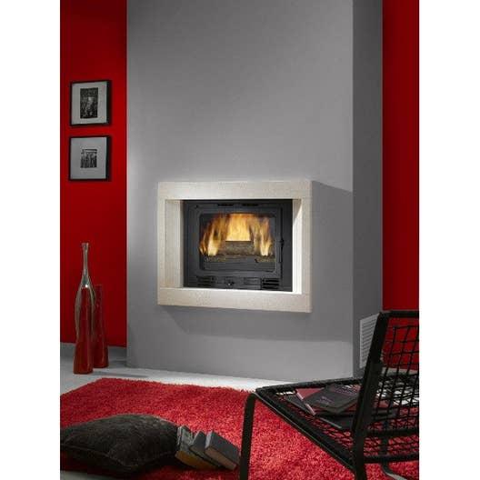 Habillage de cheminée cadre en pierre, CHINVEST USINE DARGEMONT, Uno ...