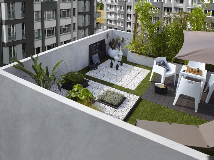 Decoration balcon terrasse appartement - Idee deco balcon appartement ...