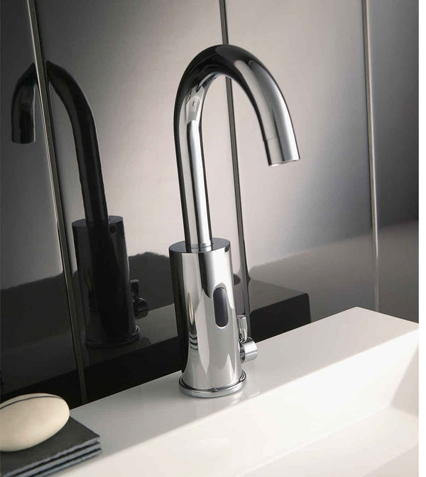 Bien choisir son robinet de salle de bains leroy merlin for Robinets de salle de bain