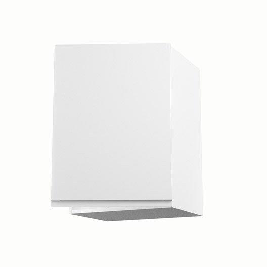 meuble de cuisine haut blanc 1 porte graphic x x. Black Bedroom Furniture Sets. Home Design Ideas