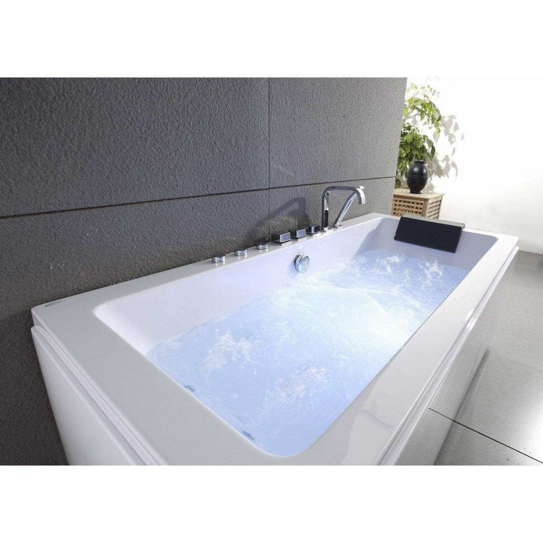 baignoire baln o tablier et robi rectangulaire l. Black Bedroom Furniture Sets. Home Design Ideas