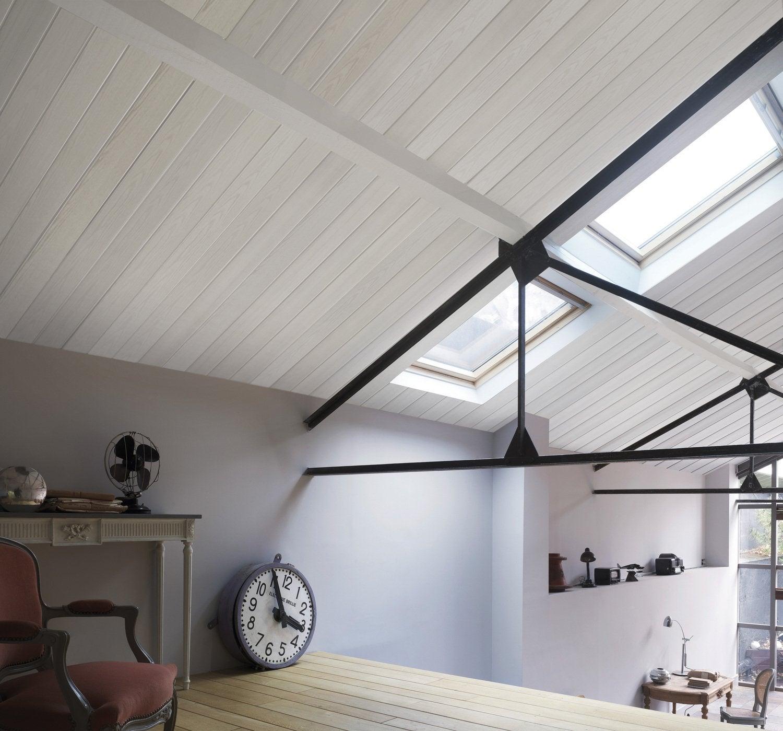 le lambris transforme les murs leroy merlin. Black Bedroom Furniture Sets. Home Design Ideas