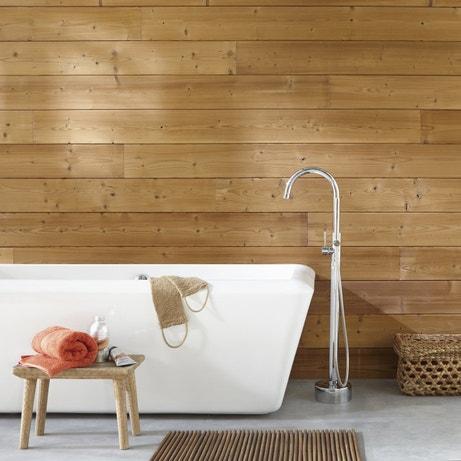 Ambiance sauna dans la salle de bains