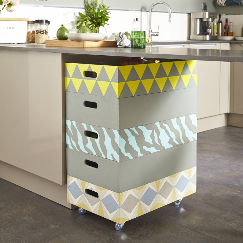 casiers de rangement facile empiler leroy merlin. Black Bedroom Furniture Sets. Home Design Ideas
