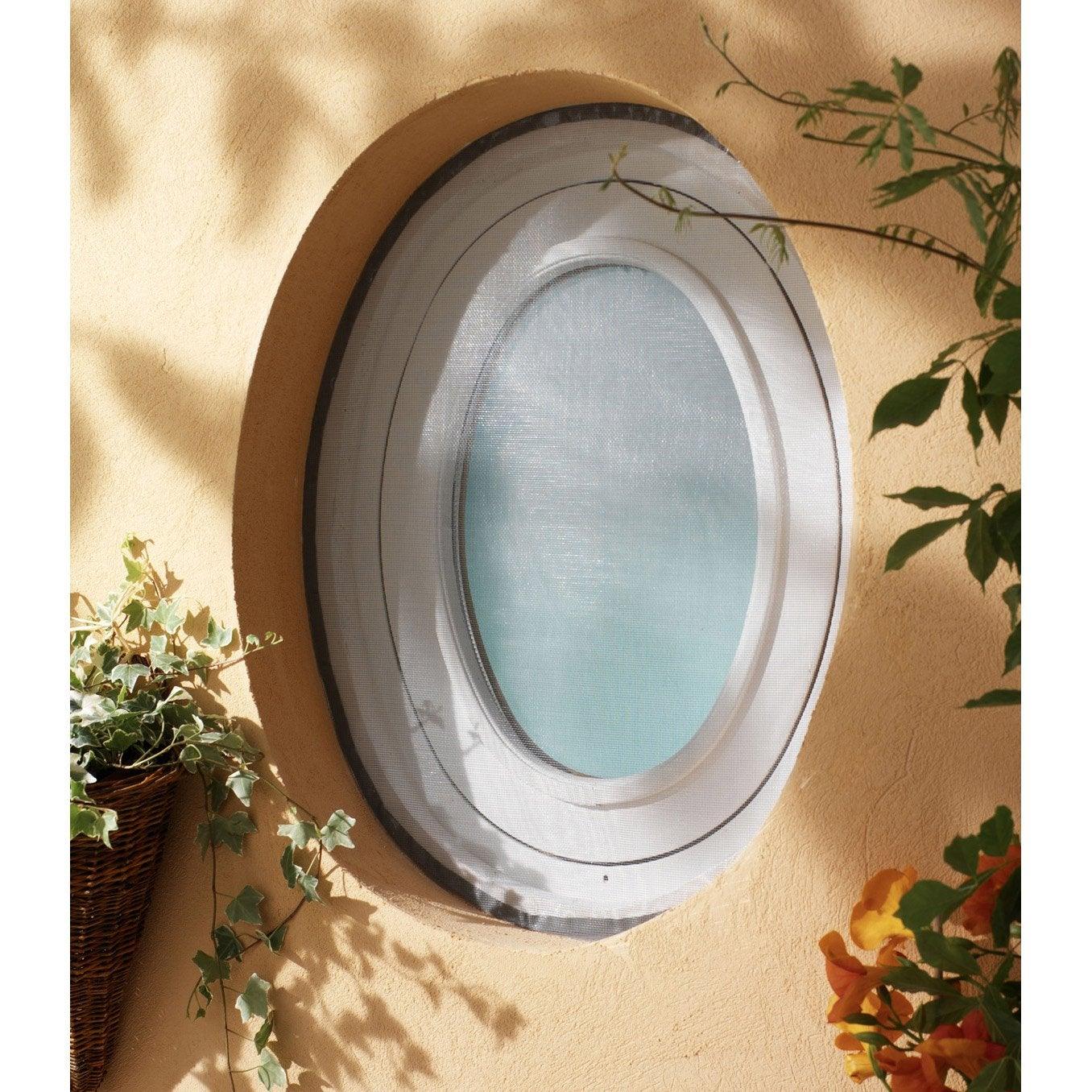 Moustiquaire Fenêtre Avec Fixation Auto Agrippante Moustikit H150 X L120 Cm