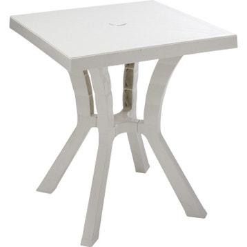 Table de jardin plastique au meilleur prix   Leroy Merlin