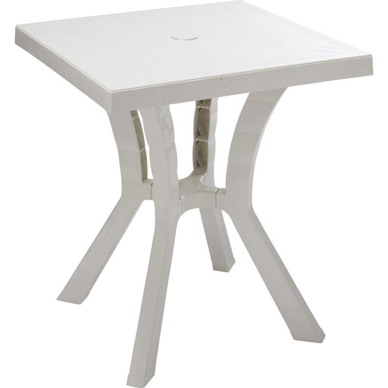 Table De Jardin En Fer Forge Pas Cher Table Basse Blanche Carree ...