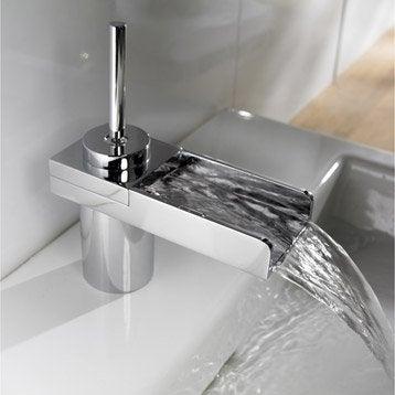 Robinet de lavabo et vasque robinet de salle de bains for Robinet salle de bain leroy merlin