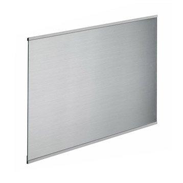 Fond de hotte verre Décor inox H.70 cm x L.90 cm