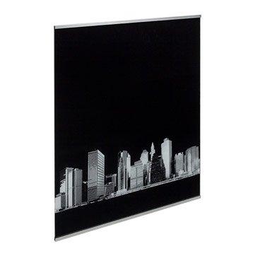 Fond de hotte verre Décor new york H.70 cm x L.90 cm