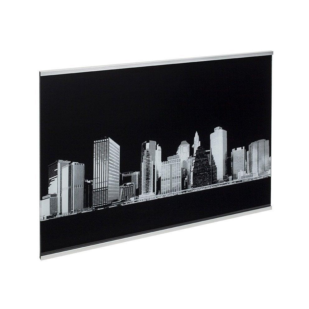 cr dence verre d cor new york cm x cm leroy merlin. Black Bedroom Furniture Sets. Home Design Ideas