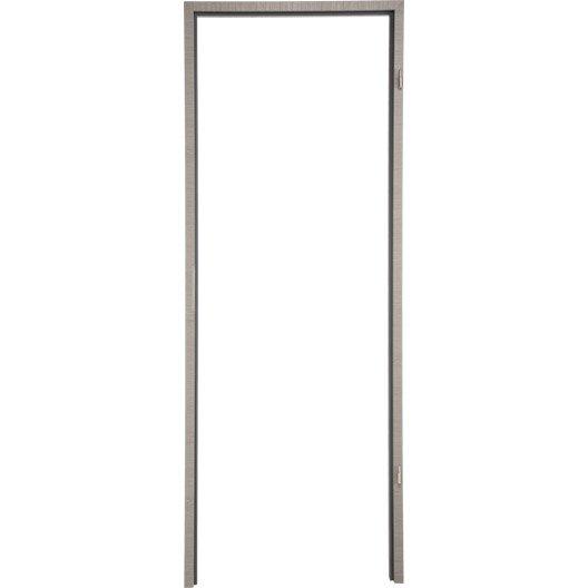 B ti pour porte londres 73 cm poussant gauche d cor ch ne for Bati porte interieure