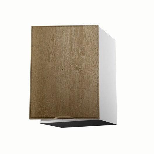 Meuble de cuisine haut ch ne 1 porte origine x x for Porte 70 cm de large
