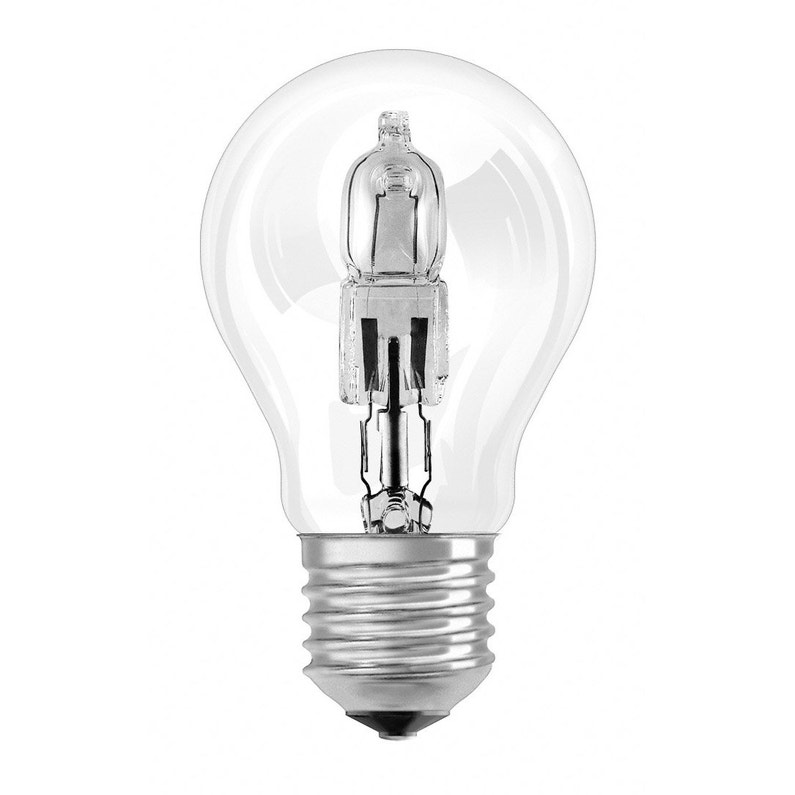 2 Ampoules Standards Halogènes 116w 2135lm équiv 150w E27 2900k Osram
