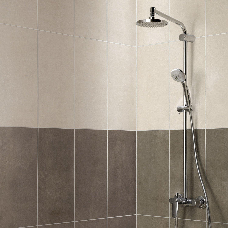 Faïence mur beige, Smart l.25 x L.50 cm | Leroy Merlin