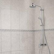 Faïence mur gris, Smart l.25 x L.50 cm